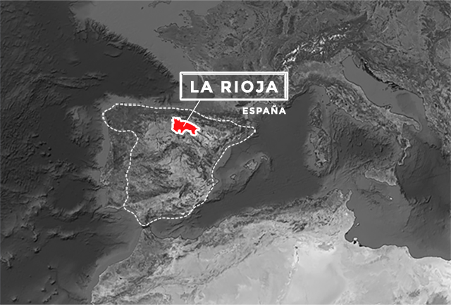 Mapa de situación, La Rioja España