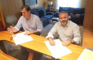 Firma convenio IGP Chorizo