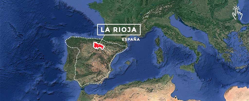 Mapa La Rioja