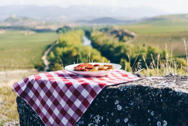Chorizo y paisajes de la Rioja